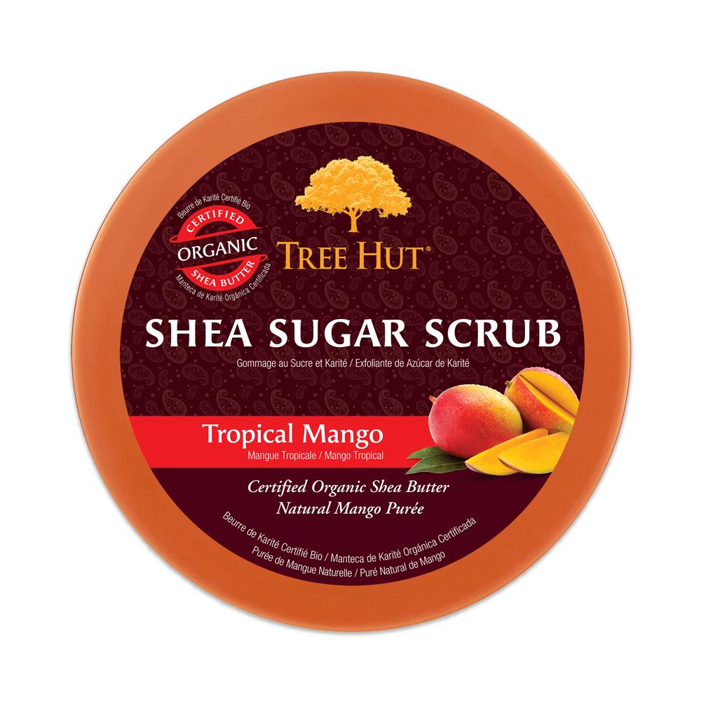 Tẩy tế bào chết cơ thể Tree Hut Shea Sugar Scrub Tropical Mango