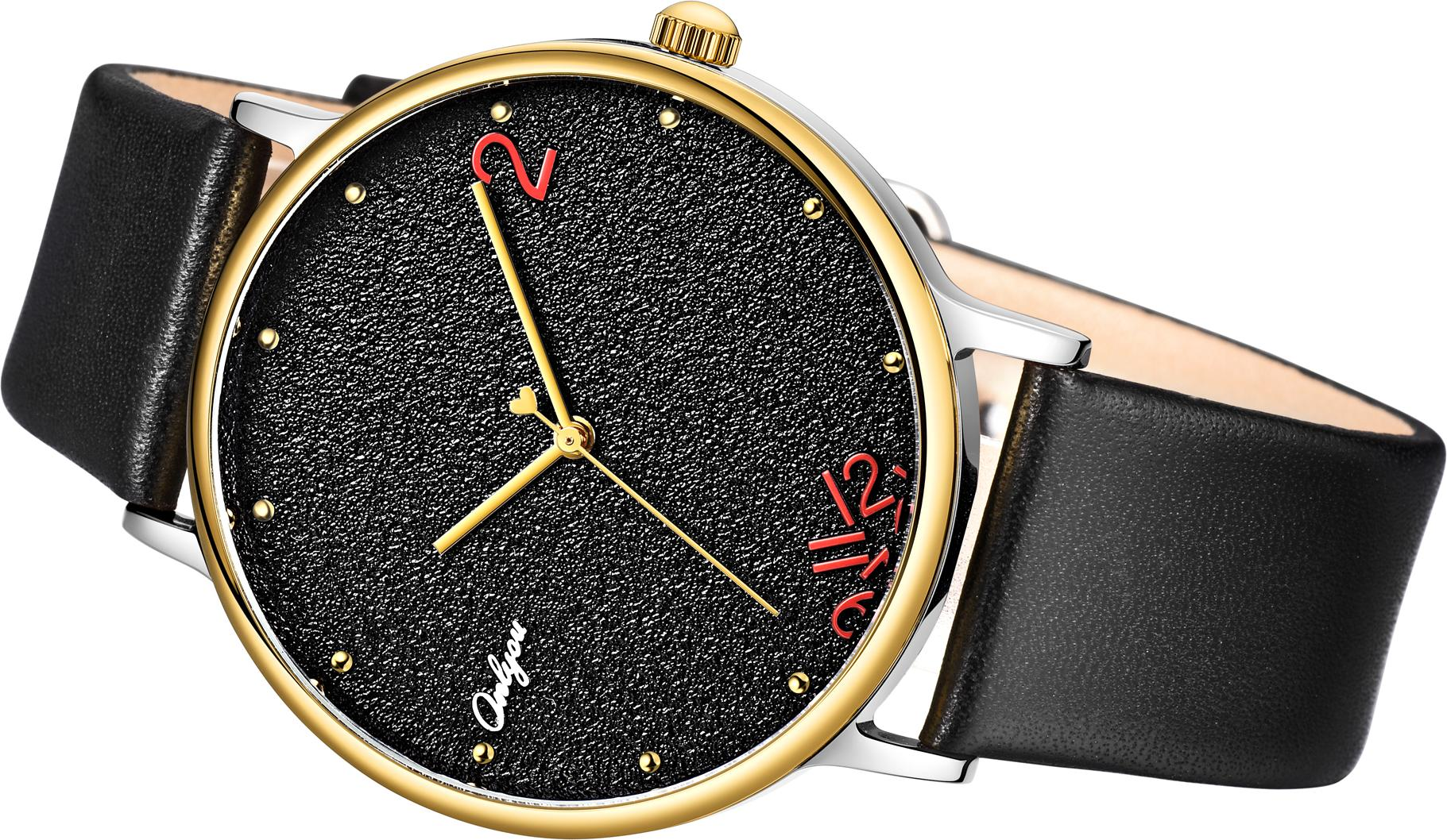 Đồng hồ Onlyou Nam 520011GB Dây Da 40mm