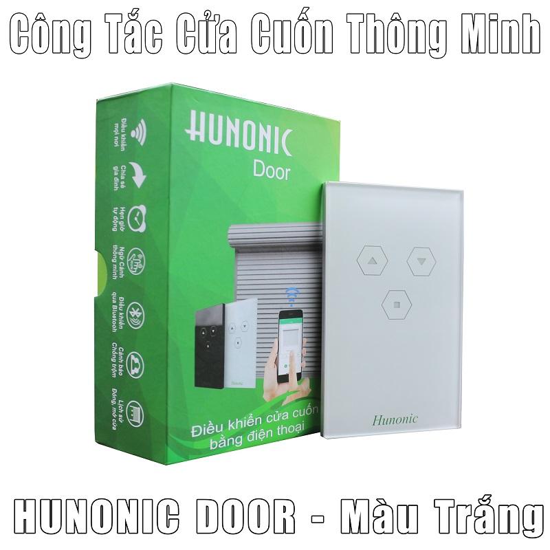 Công tắc cửa cuốn thông minh Hunonic điều khiển bằng điện thoại