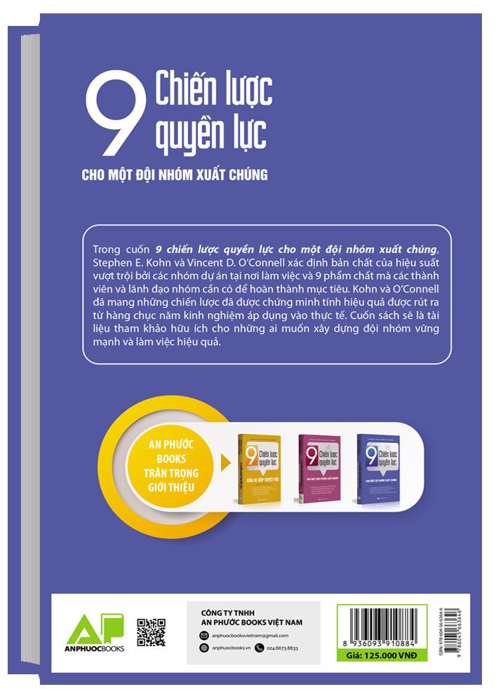 Cuốn sách 9 chiến lược cho một đội nhóm xuất chúng