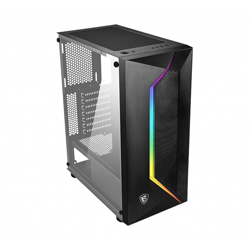 Vỏ Case máy tính MSI MAG VAMPIRIC 100L - Hàng Chính Hãng