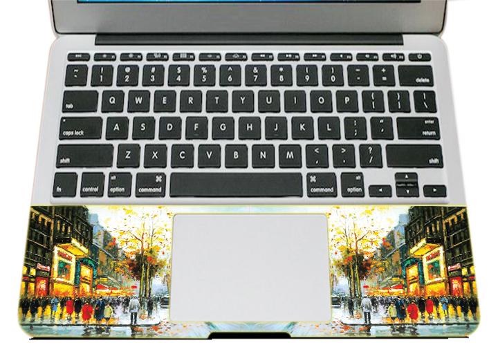 Mẫu Dán Trang Trí Mặt Ngoài + Lót Tay Laptop Nghệ Thuật LTNT - 908