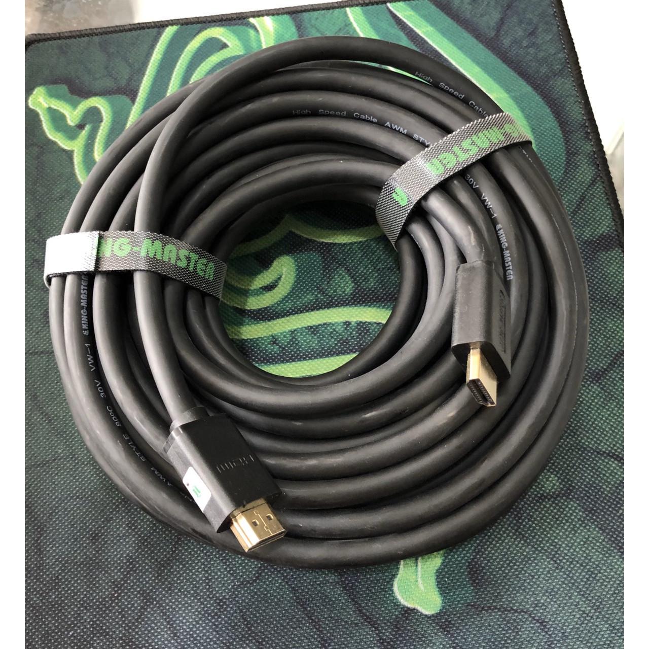 Cáp 2 đầu HDMI dài 15 mét đen tốt