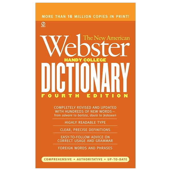 The New American Webster Handy College Dictionary - 4th Edition