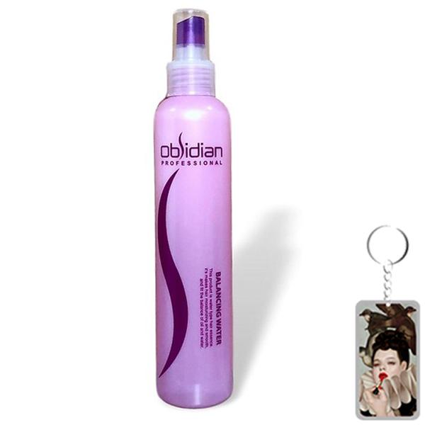 Xịt dưỡng tóc siêu mềm mượt Obsidian Professional Balancing Water Hàn Quốc 250ml (Mẫu mới) Tặng kèm móc khoá