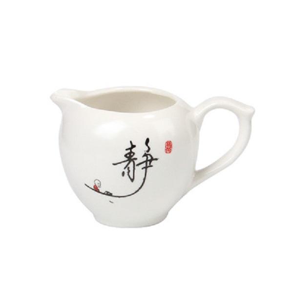 Bộ ấm chén pha trà cối xay 10 món Bạch Định