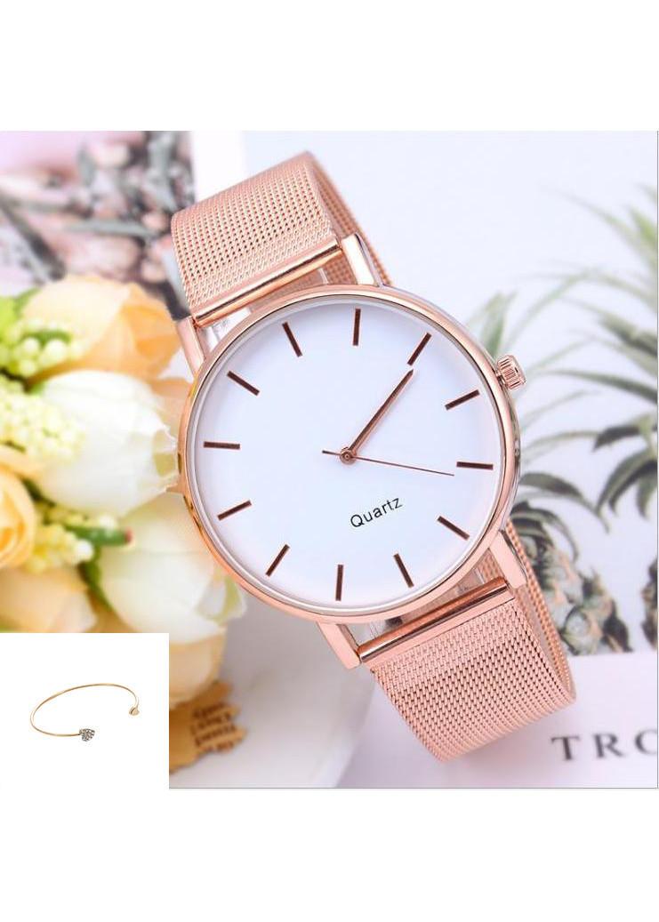Đồng hồ nữ cao cấp ( TẶNG LẮC TAY THỜI TRANG, KÈM HỘP VÀ PIN)