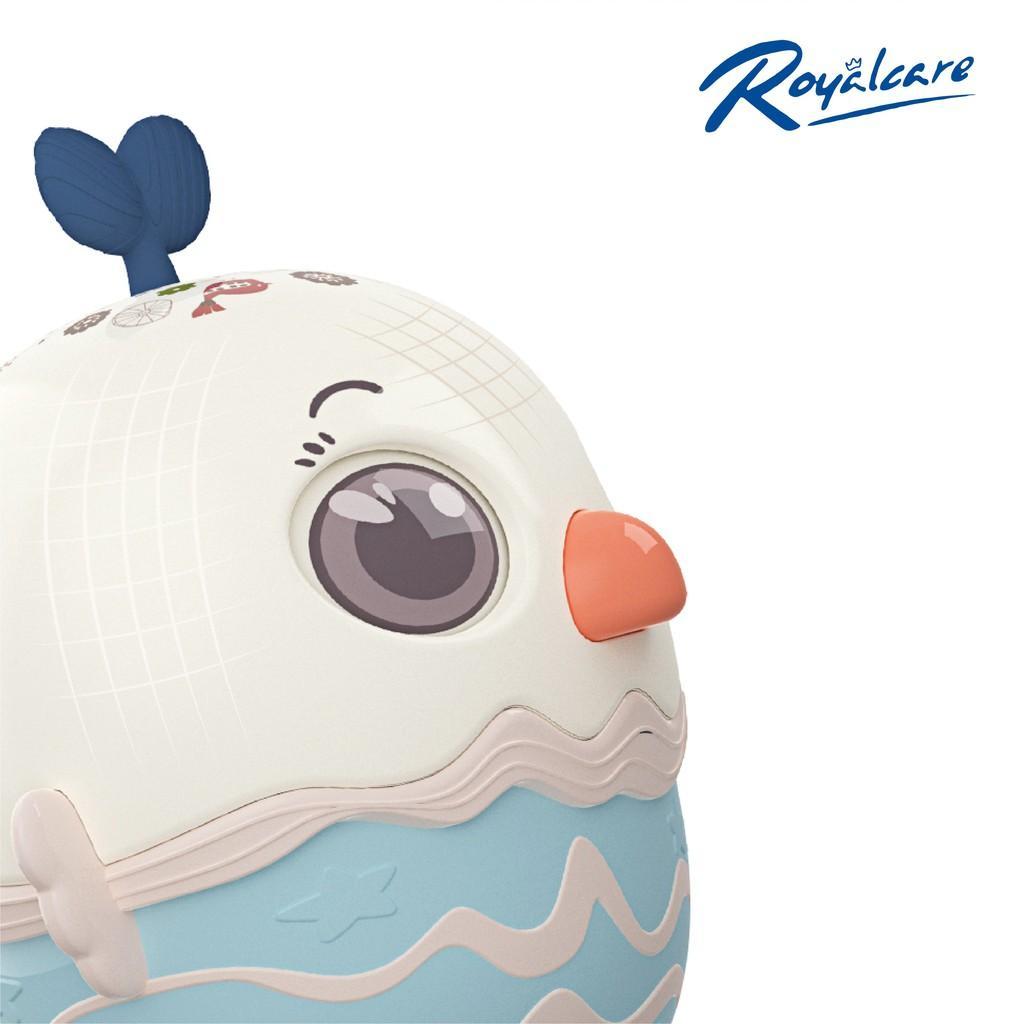 Đồ chơi lật đật cho bé hình quả trứng dễ thương kêu leng keng Royalcare 0820-RC-822-222 - đồ decor trang trí phòng bé