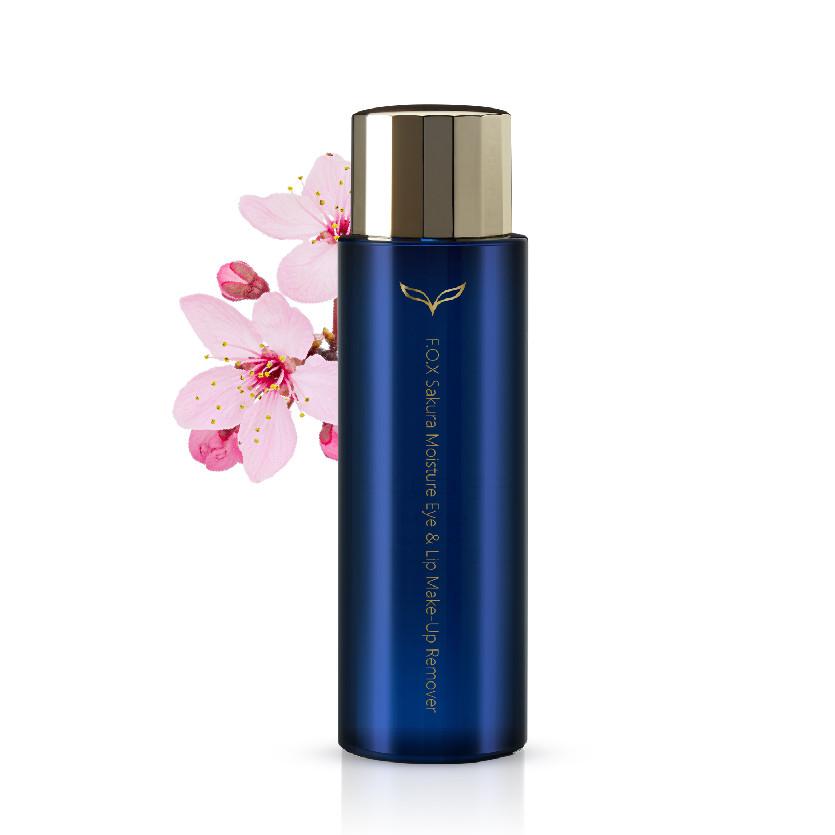 Dầu Tẩy Trang Mắt - Môi Hoa Anh Đào F.O.X Sakura Moisture Eye & Lip Make-Up  Remover 100ml | Tiki.vn