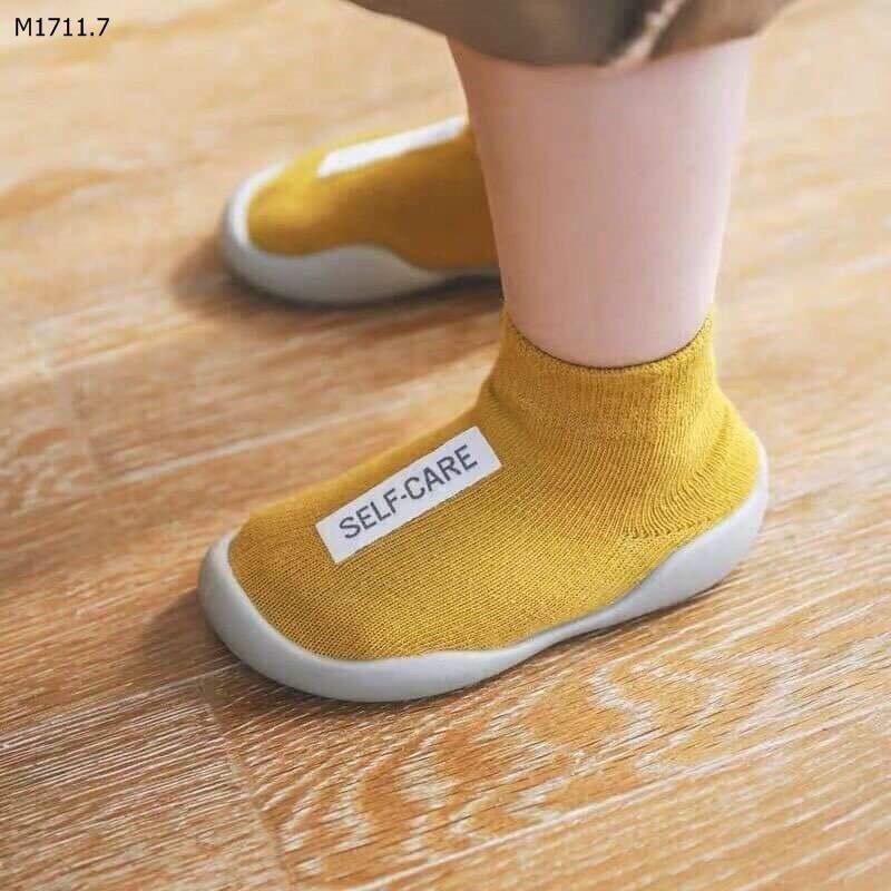 Giày Bún Cổ Cao Tập Đi Cho Bé