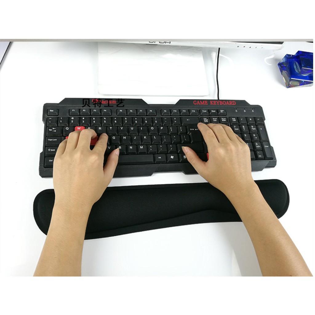 Bộ đỡ cổ tay bàn phím và chuột cao su non