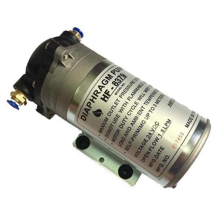 Máy bơm nước mini 24V có thể dùng bơm phun sương áp lực kèm nguồn Adaptor 24V 2