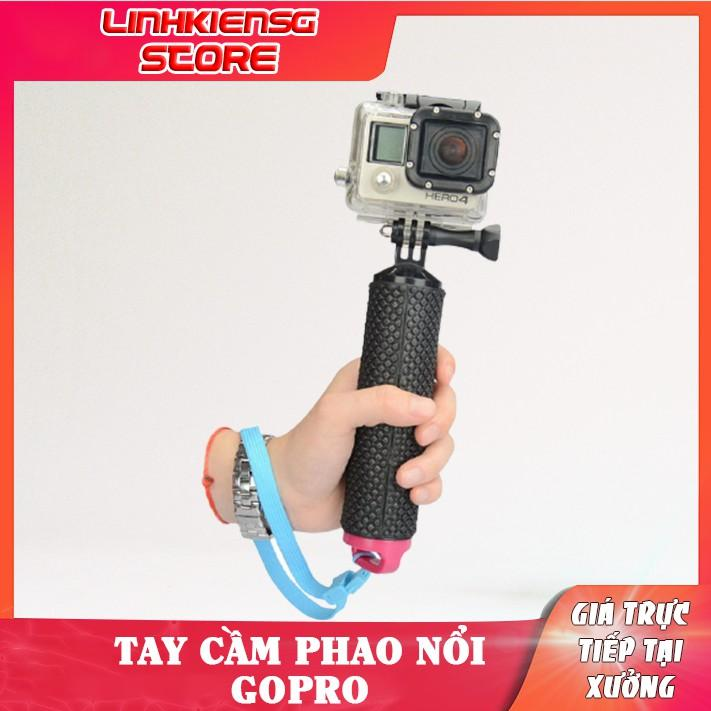 Tay cầm Kiêm phao nổi dưới nước chống thấm cho GoPro Hero 8 Hero 7 Fusion DJI Osmo