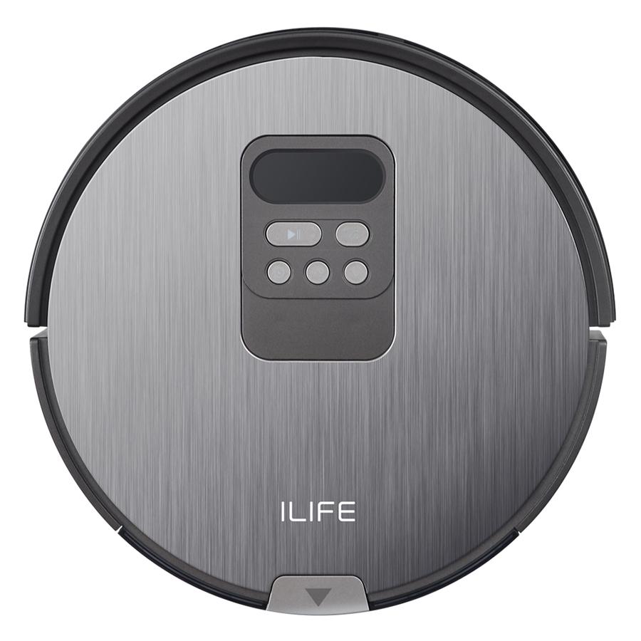 Robot Hút Bụi Lau Nhà iLife X750 (2000W) - Đen - Hàng Nhập Khẩu