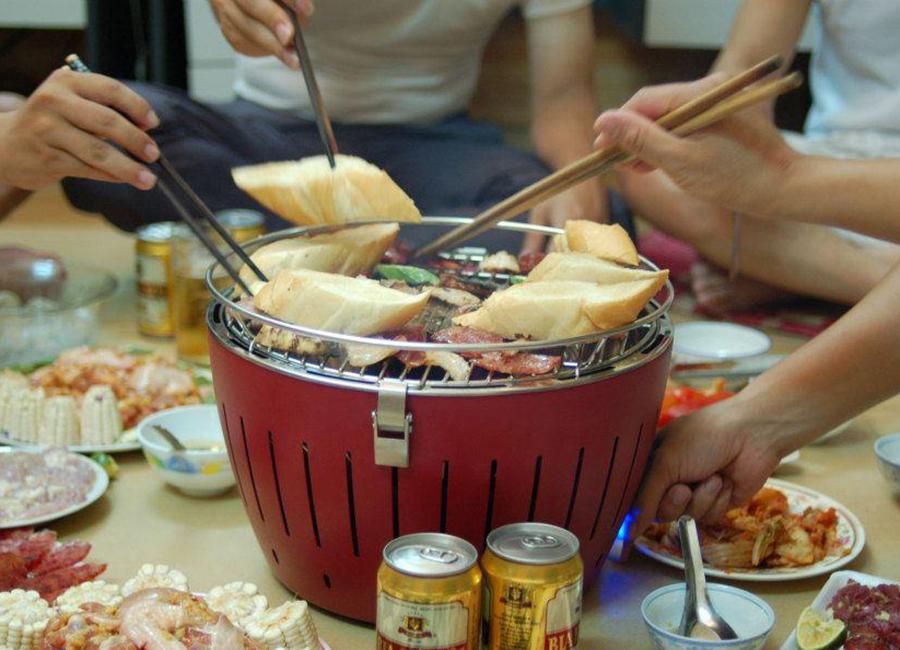 Bếp Nướng Than Hoa NAJICO LG345 - Màu Ngẫu Nhiên
