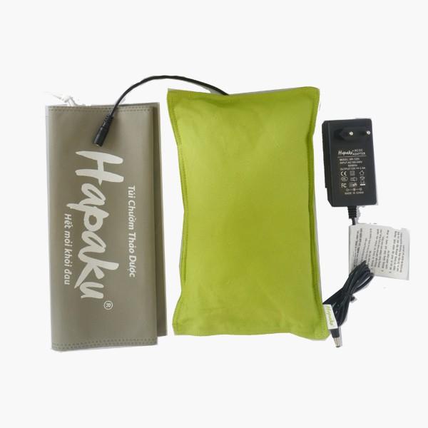 Gối Chườm Nóng Thảo Dược Hapaku - Làm Nóng Bằng Điện - Size 30*22*4.5cm (GKC01)