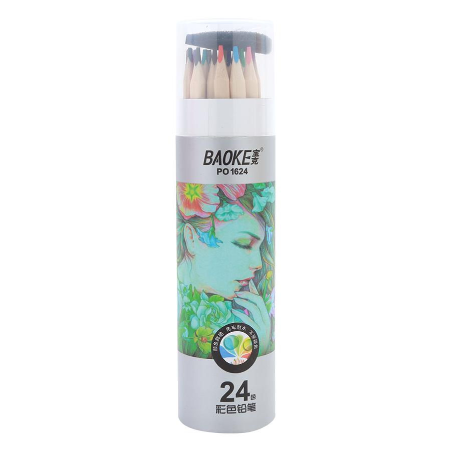 Viết Chì Baoke PO1624 - 24 Màu