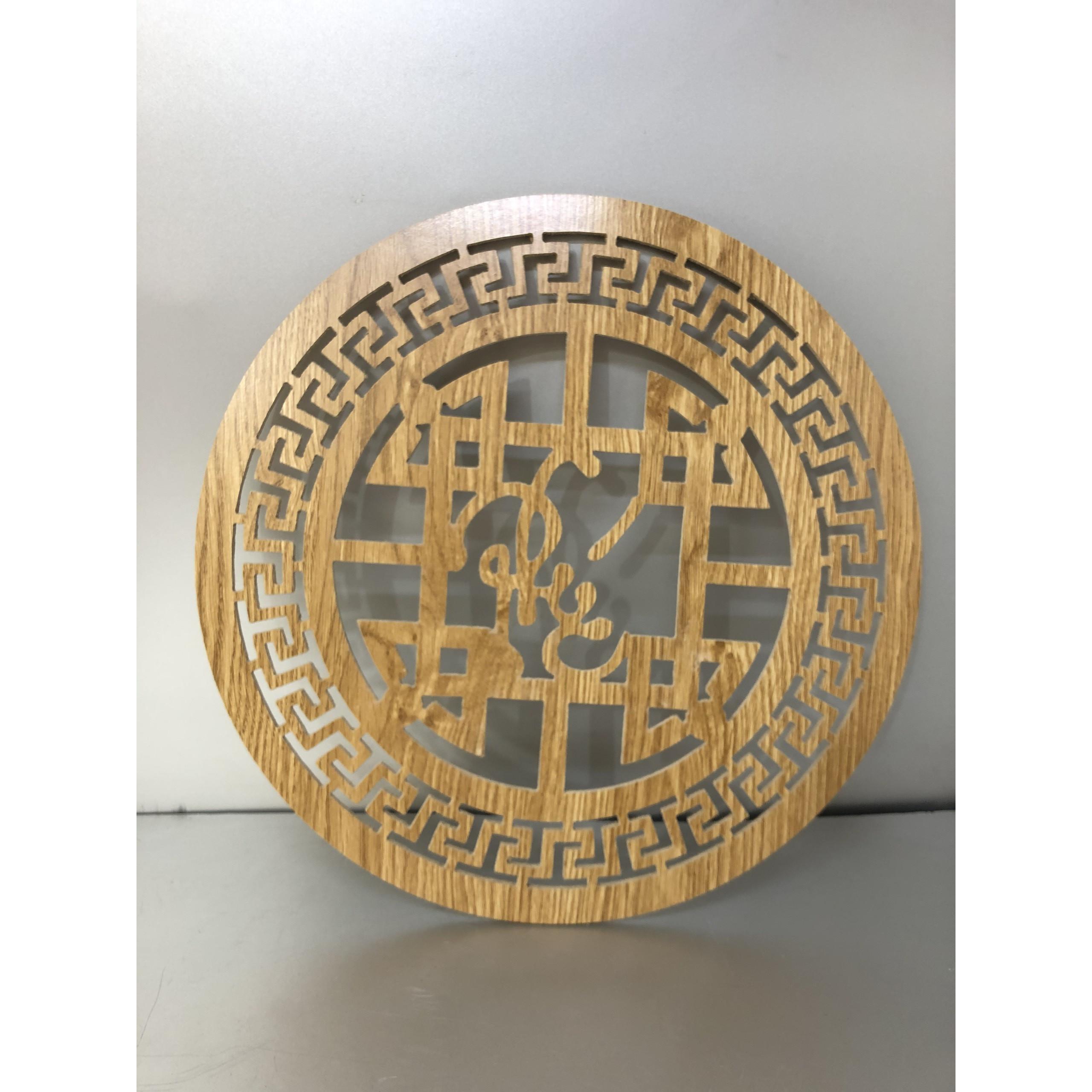 Tấm trang trí chữ phúc việt mầu vàng dành cho bàn thờ treo tường - TL28