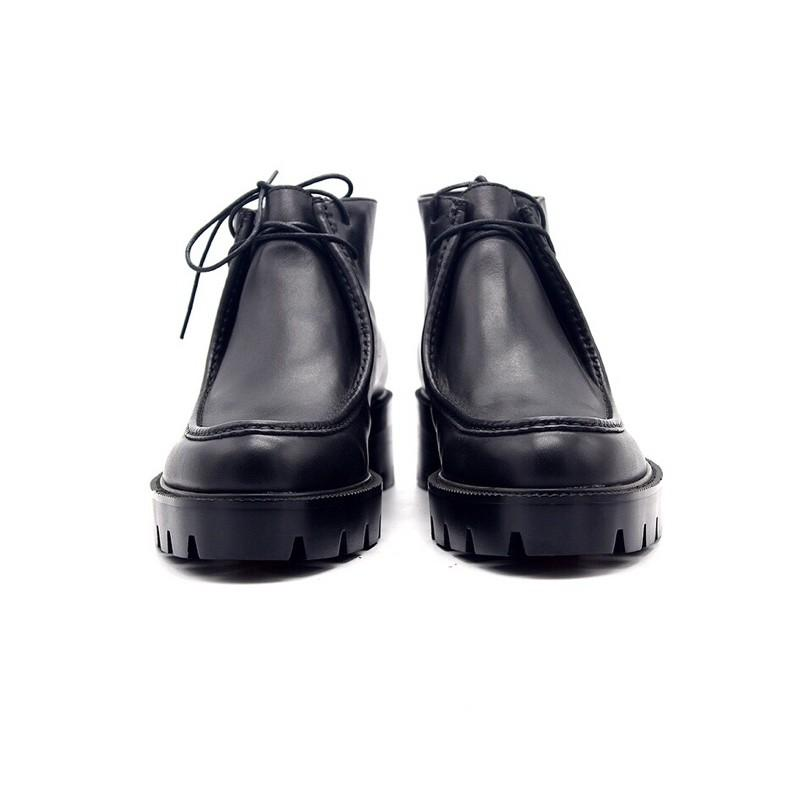 Giày cổ lửng nam tăng cao 7Cm, Giày tây nam, Giày cao cổ nam