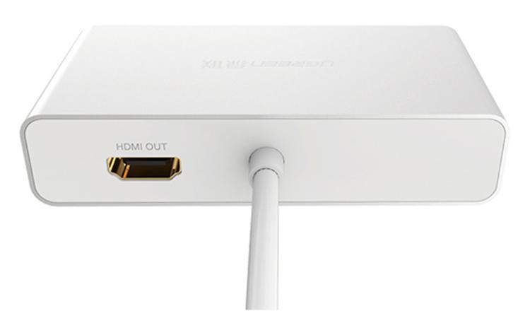 Cáp Chuyển Đổi Ugreen MiniDP Sang HDMI VGA DVI - Hàng Chính Hãng