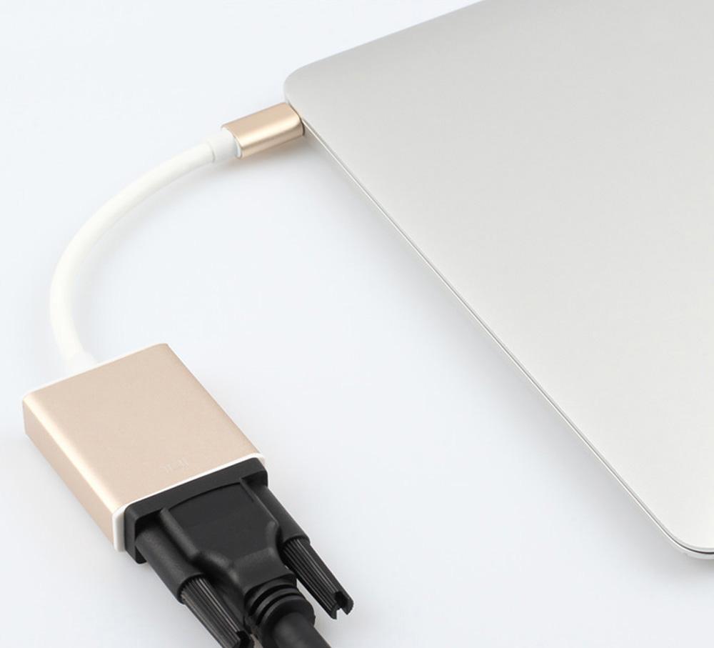 Cáp chuyển Thunderbolt 3 ra VGA cho Macbook