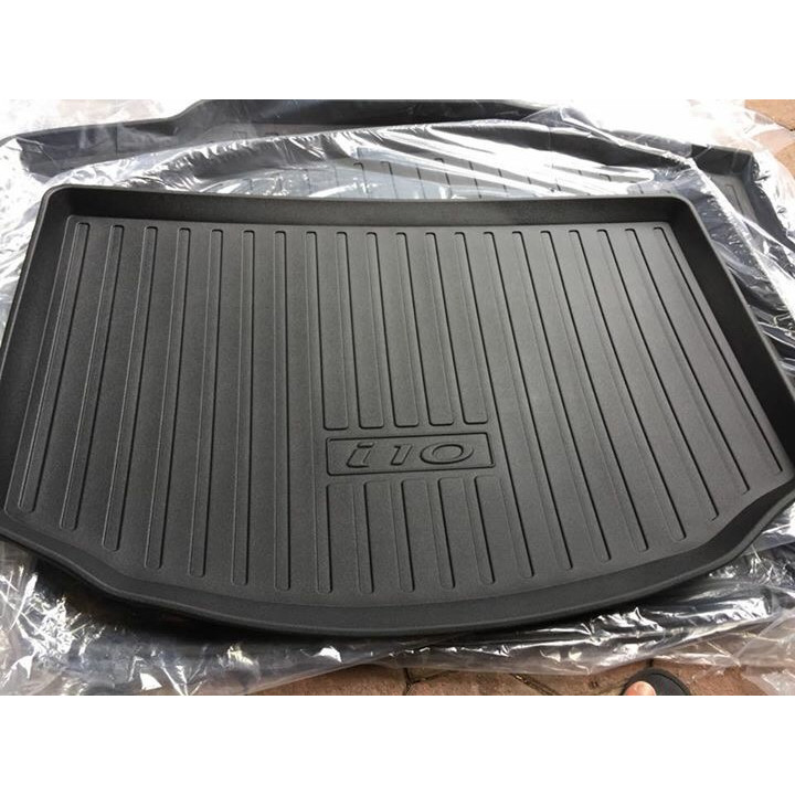 Lót Cốp Nhựa TPO Cao Cấp Dành Cho xe i10 - Bản Hatbach