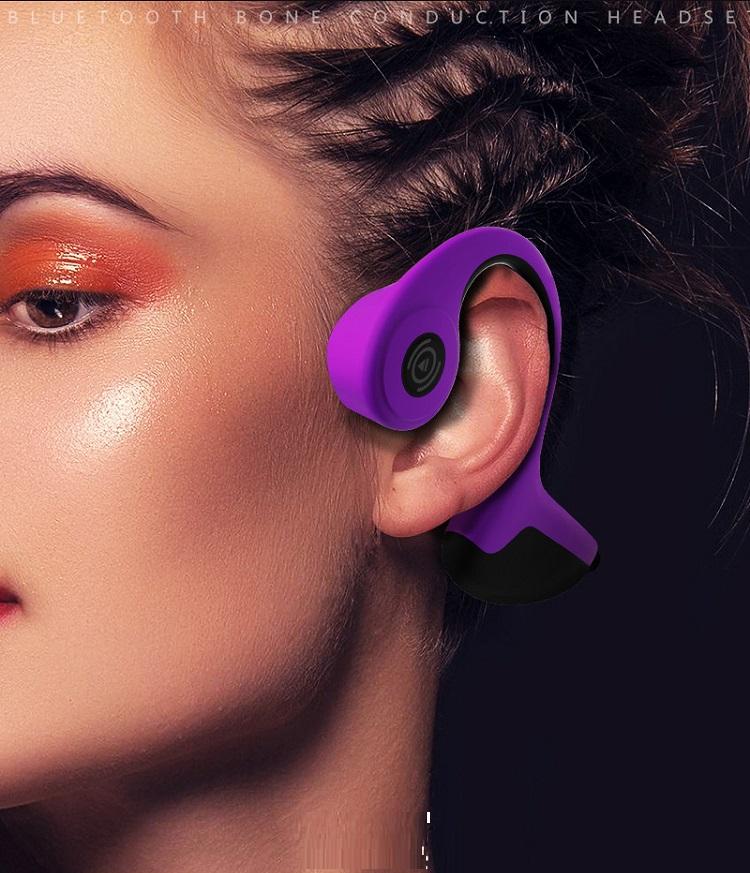 Tai nghe bluetooth 5.0 Z8 R9 truyền âm thanh qua xương sọ bảo vệ thính giác chuyên dành cho dân thể thao