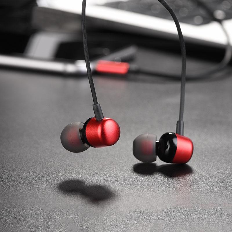 Tai nghe nhét tai Hoco M31 hỗ trợ jack Audio 3.5mm - Hàng chính hãng