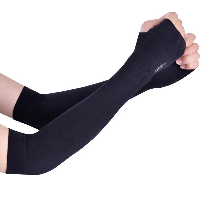 Găng tay chống nắng xỏ ngón Aqua-X Let's Slim