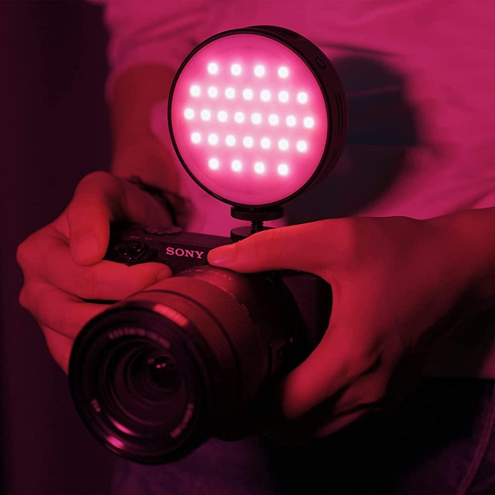 Đèn Led Trợ Sáng Chụp Ảnh, Quay Phim Cho Máy Ảnh, Điện Thoại, Gopro 2500K-9000K Ulanzi R66 RGB - Hàng Chính Hãng