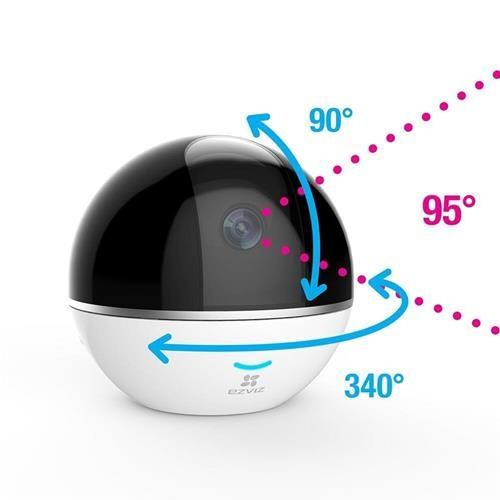 Camera IP Wifi kỹ thuật số EZVIZ CS – CV248 (C6T with RF) + Tặng kèm thẻ nhớ 32G Hikvision - Hàng nhập khẩu