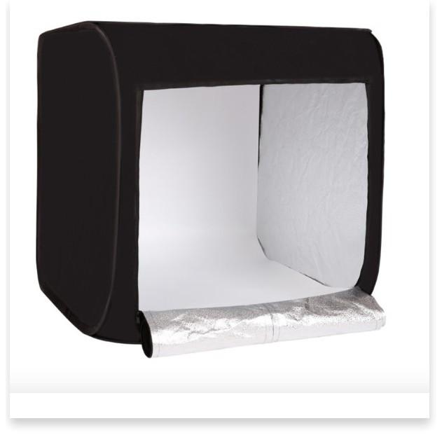 Hộp chụp sản phẩm Studio Box 80x80cm size lớn 5500K - hộp chụp ảnh