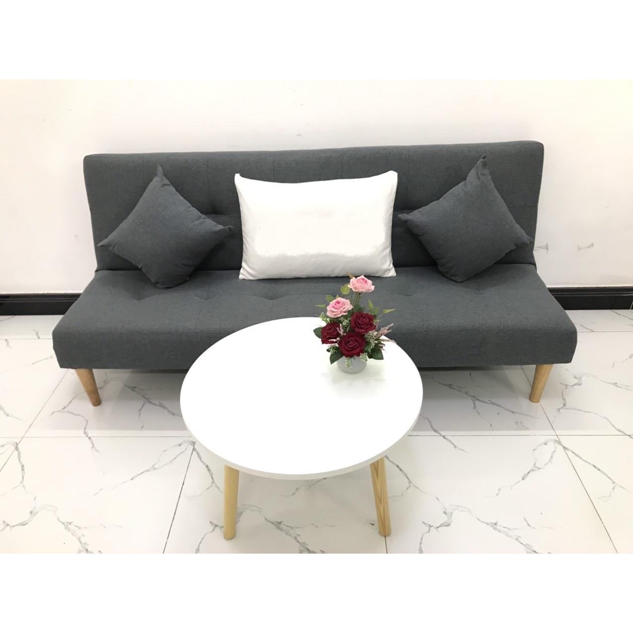 Bộ ghế sofa bed 1m7x90 phòng khách sofa vải, sofa nệm linco24