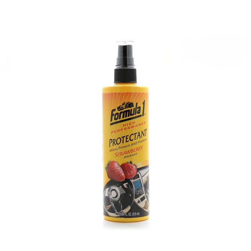 Combo Chăm sóc nội thất ngoại thất xe Formula 1: Giặt nệm khử mùi dạng xịt-Nước rửa xe có chất đánh bóng-Chất bảo dưỡng 2 trong 1 hương dâu