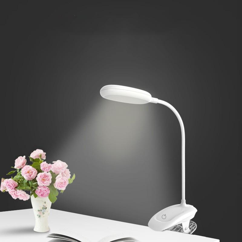 Đèn pin đọc sách đèn bàn LED chống cận, Tặng Kèm gương mini Hàn Quốc