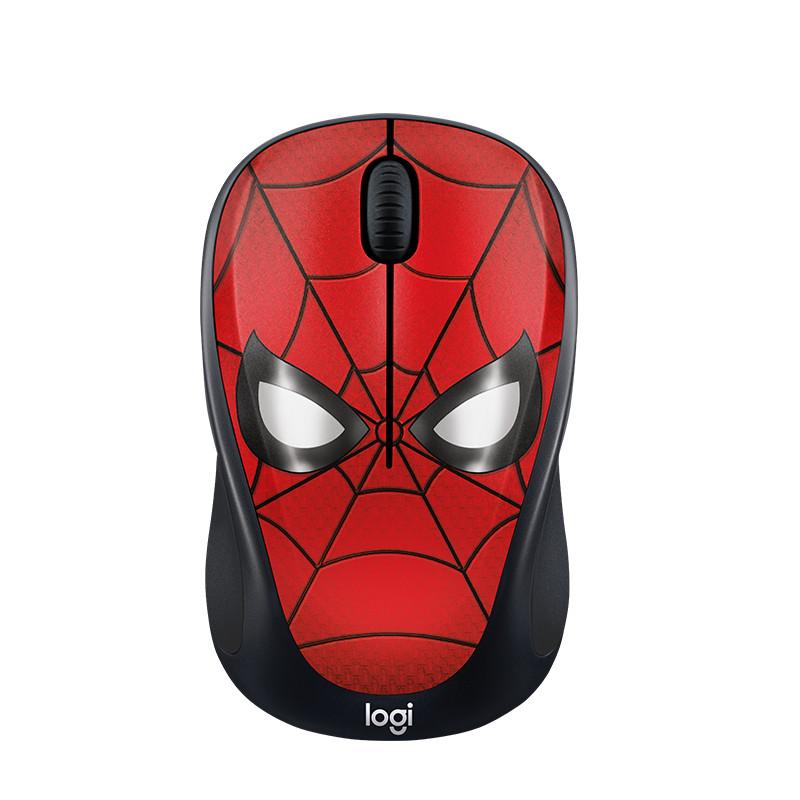 Chuột không dây LOGITECH M238 Spider Man - Hàng Chính Hãng