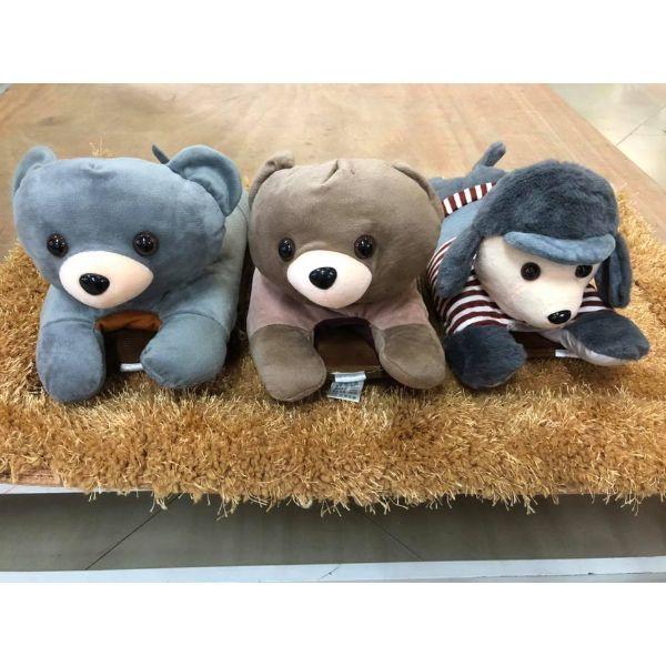 Túi Sưởi Ấm Lưng Họa Tiết Gấu bự xinh xắn Đa Năng (1 Sản Phẩm)- Dùng Điện  - Màu Ngẫu nhiên - Mẫu TSC0279