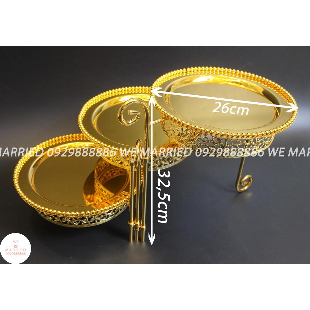 Bộ 3 Khay Bánh - MJC021