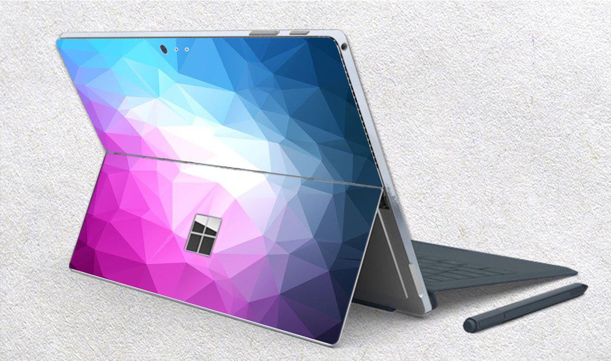 Skin dán hình Vân kim cương x02 cho Surface Go, Pro 2, Pro 3, Pro 4, Pro 5, Pro 6, Pro 7, Pro X