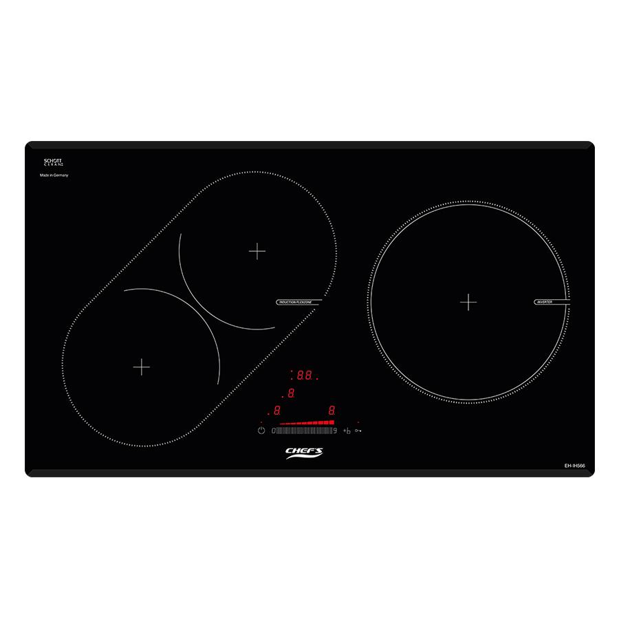 Bếp Từ Âm 3 Vùng Nấu Chef's EH-IH566 - Hàng chính hãng