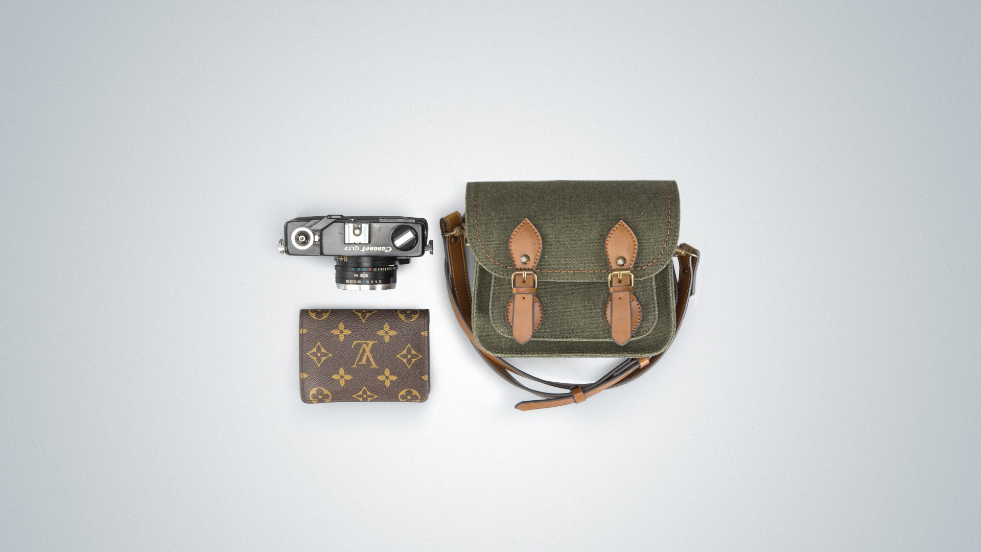 Túi máy ảnh Herringbone Papaspocket V4 Micro - Olive color - Hàng chính hãng