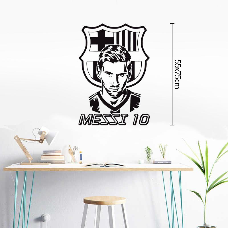 Decal Dán Trang Trí Phòng | Tranh Dán Tường Chủ Đề Messi