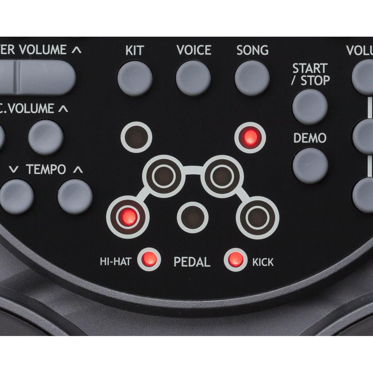 Bộ Trống điện tử Medeli DD315 (Electronic Portable Digital Drum - Kèm Nguồn, Dùi Trống, Pedal)