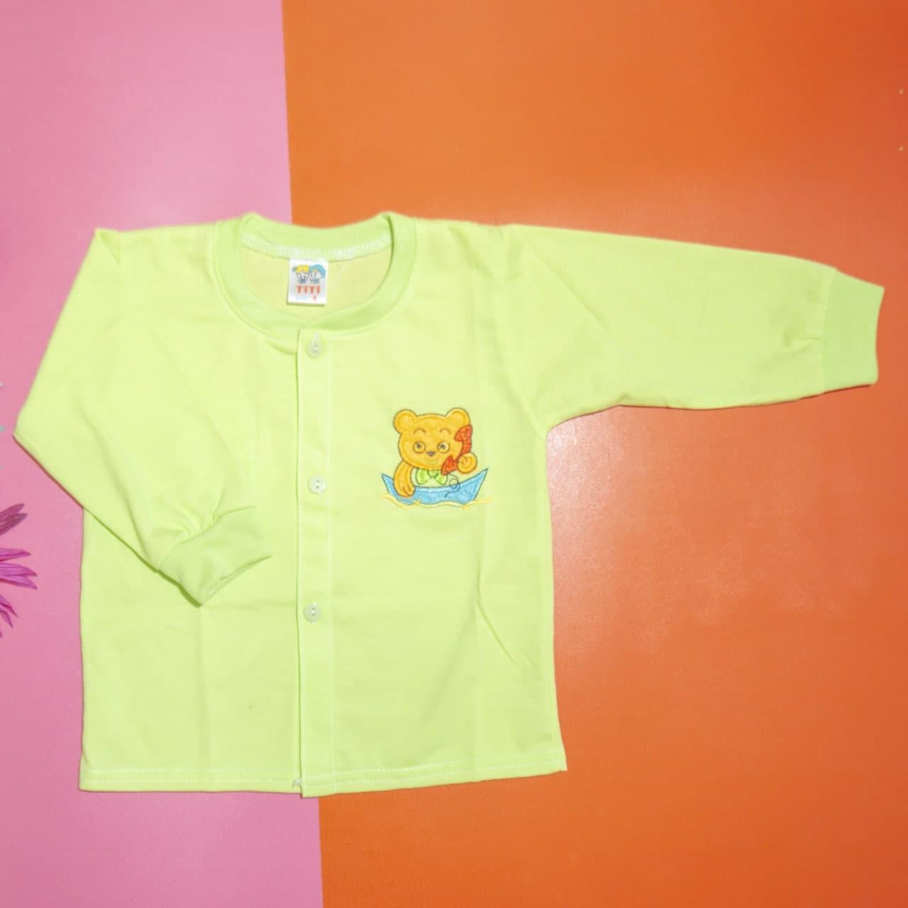 Bộ quần áo tay dài trẻ sơ sinh TiTi mèo con (5 màu)