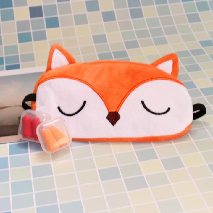 Miếng bịt mắt ngủ 3D tiện dụng cho người làm văn phòng (tặng kèm 2 cặp nút tai giảm tiếng ồn)