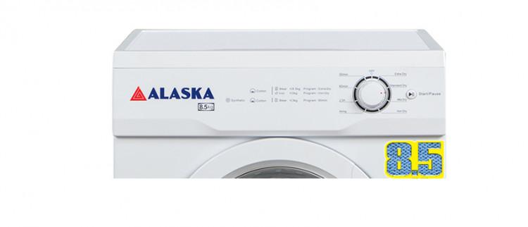Thiết kế nút bấm của máy sấy quần áo Alaska S85