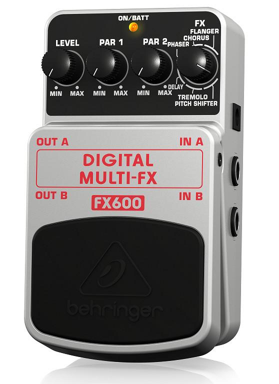 BEHRINGER FX600 - Digital Stereo Multi-Effects Pedal - PEDAL - FUZZ- Hàng chính hãng