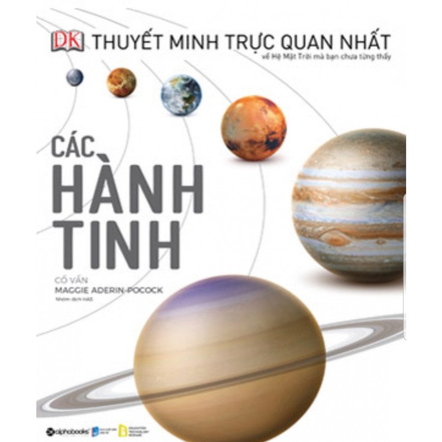 Siêu phẩm - Các hành tinh (Planet) tặng bookmark PD