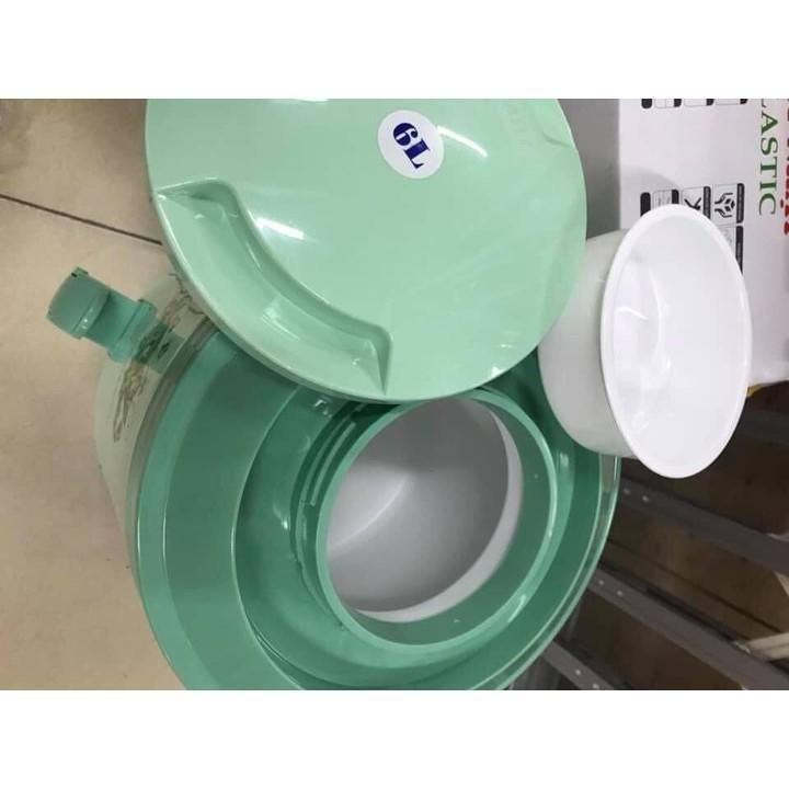 Bình Giữ Nhiệt Có Vòi Rót Và Quai Xách Nhựa Việt Nhật Loại To Cao Cấp 6L - 8L - 10L Thùng đá giữ nhiệt Cao Cấp