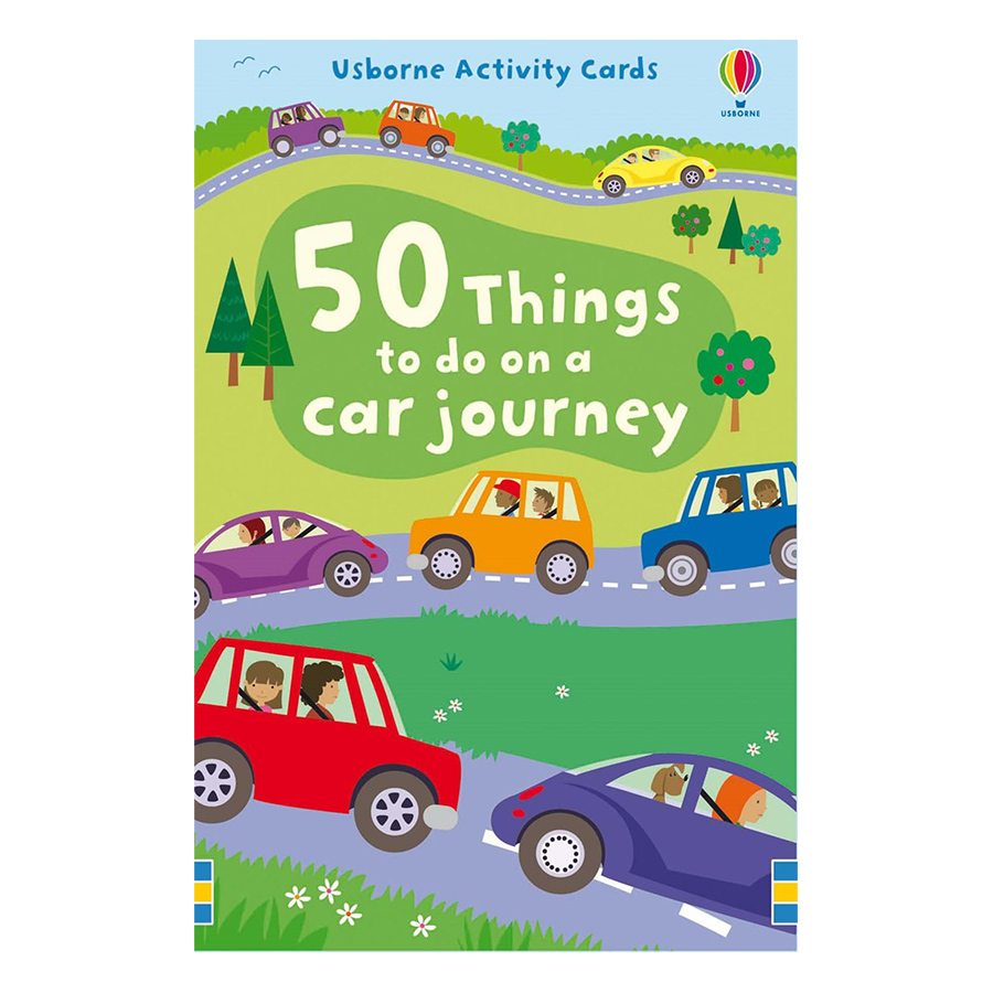 Flashcards tiếng Anh - Usborne 50 things to do on a car journey